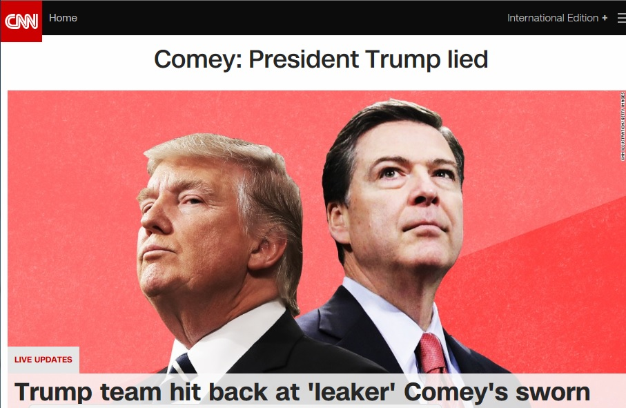 Трамп и чудовище